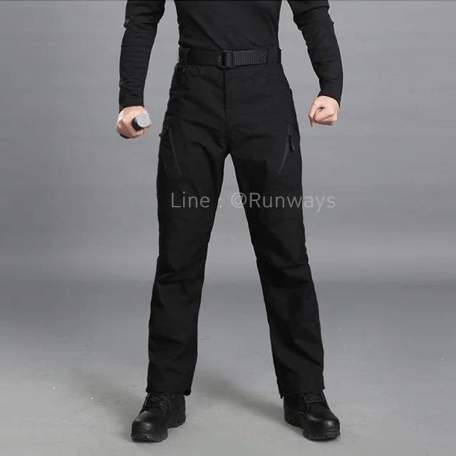 กางเกง IX9C สีดำ