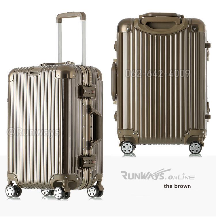 กระเป๋าเดินทาง By Runways สี The Brown