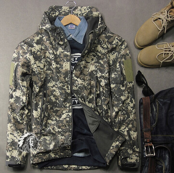 เสื้อแจ็คเก็ตทหาร สไตล์แทดเกียร์ TAD GEAR สี ACU ลายพรางดิจิตอล