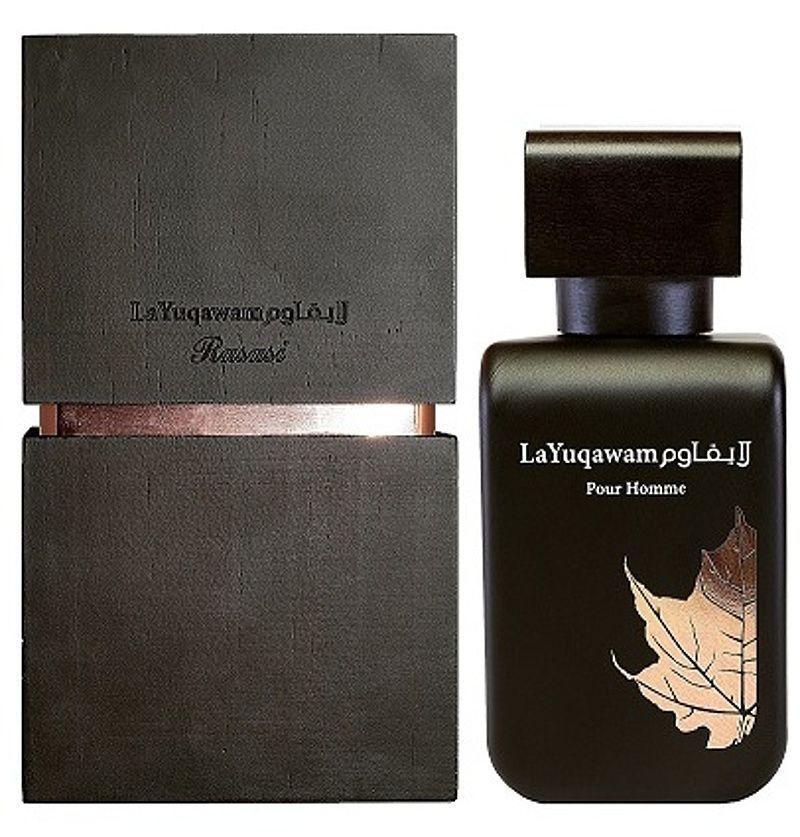 น้ำหอม La Yuqawam Homme by Rasasi 75ml. กลิ่นคล้าย Tom Ford Tuscan Leather