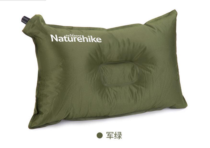 หมอนลม Naturehike NH-002 / สีเขียวขี้ม้า