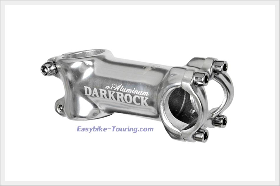 สเต็ม Darkrock 80 มม. ขนาด 25.4./ Design by ITALY สีเงิน