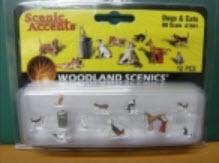 ชุดหมา-แมว (Dogs & Cats) 12 ตัว (Woodland)