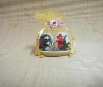 กระปุกพริกไทย ไก่คู่