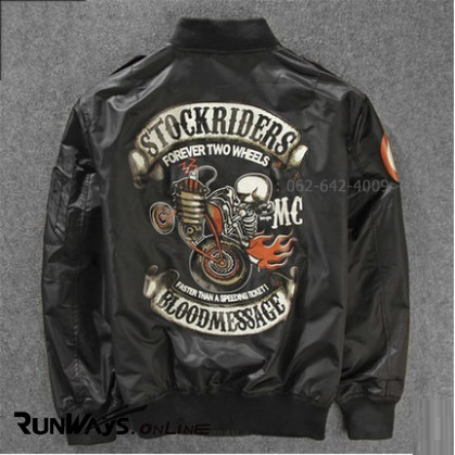 Jacket Stockriders สีดำ