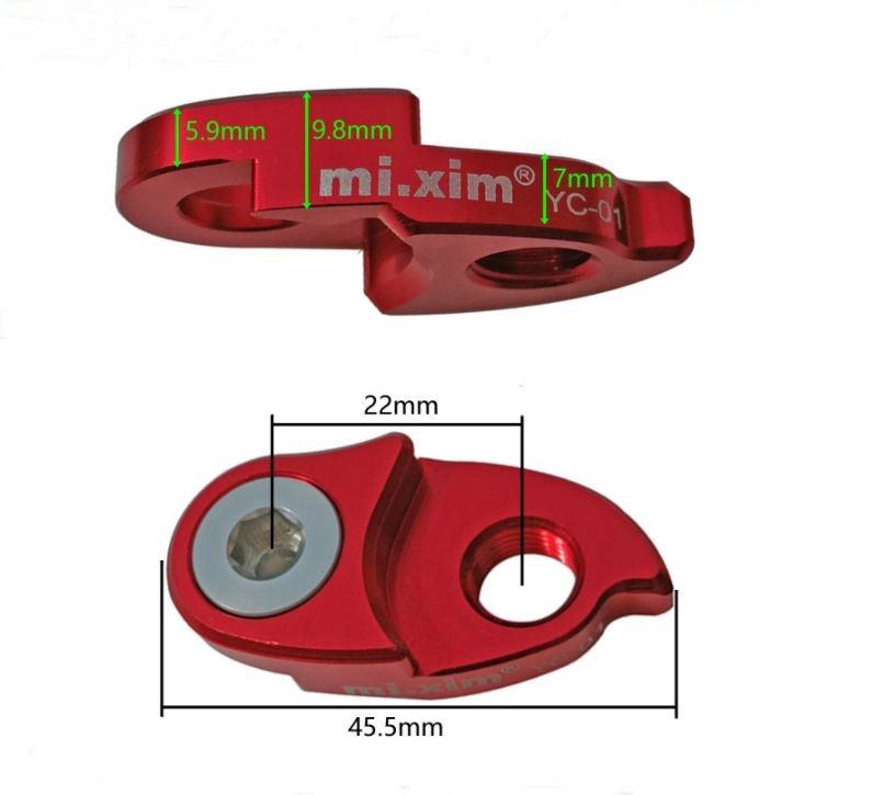 ต่อตีนผี Mi-xim สำหรับเฟืองหลังใหญ่ LOAD-LINK ( Tail hook extension )