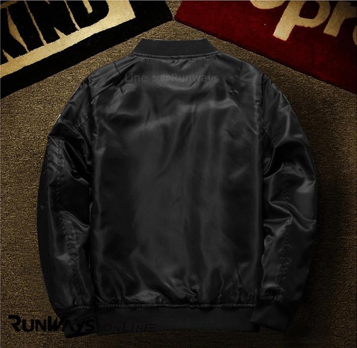 Nasa Jacket : สีดำ