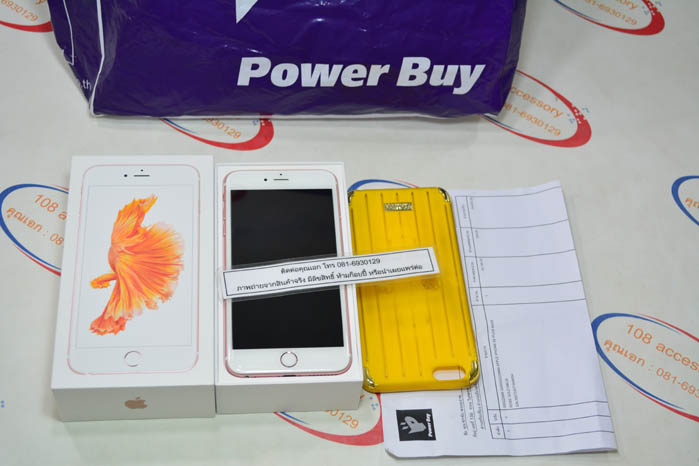 (Sold out)iPhone 6s plus 64GB Rose Gold
