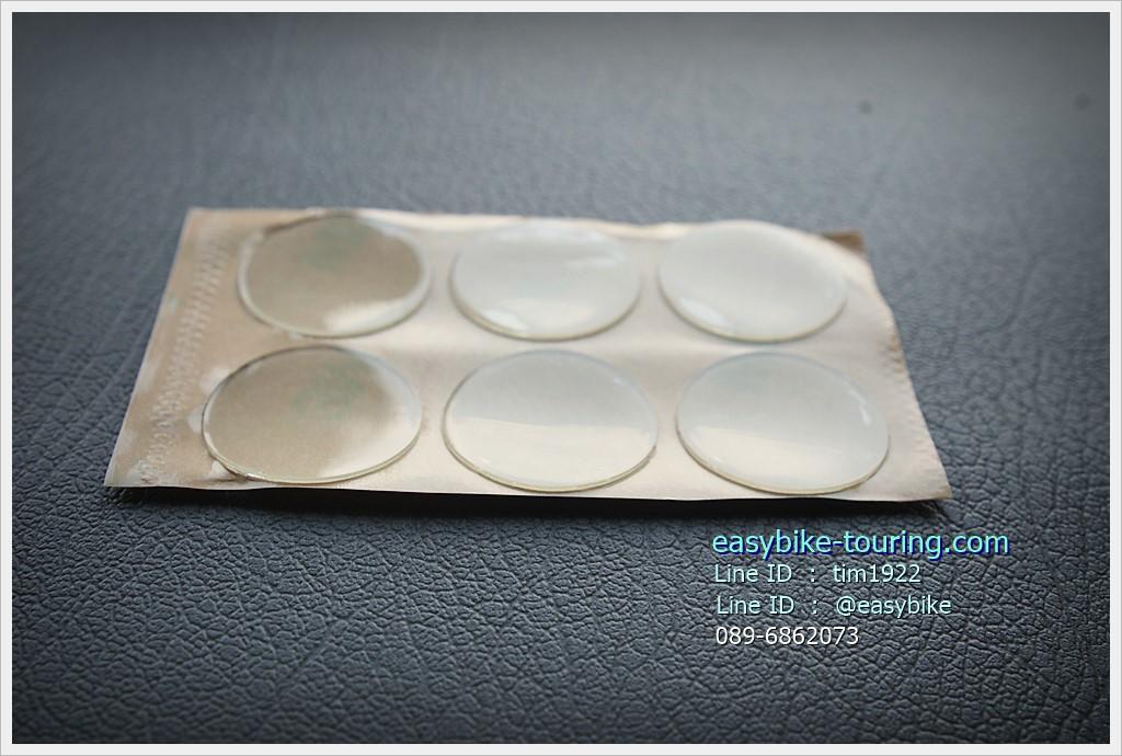สติ๊กเกอร์ใส 3M กันเฟรมเป็นรอย หนาถึง 0.6 มม. / 6 แผ่น