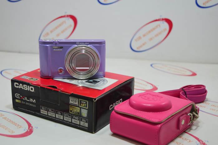 (Sold out) กล้องฟรุ้งฟริ๊ง Casio EX-ZR3600 สภาพใหม่ ครบกล่อง พร้อมเคสสะพาย