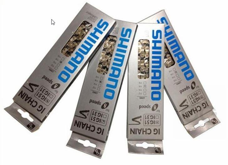 โซ่ SHIMANO IG51 สำหรับ 6-7-8 สปีด