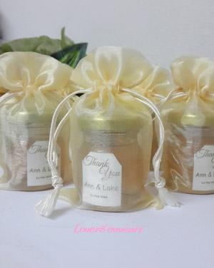 น้ำผึ้ง ในถุงผ้าแก้ว ขนาด 45 ml
