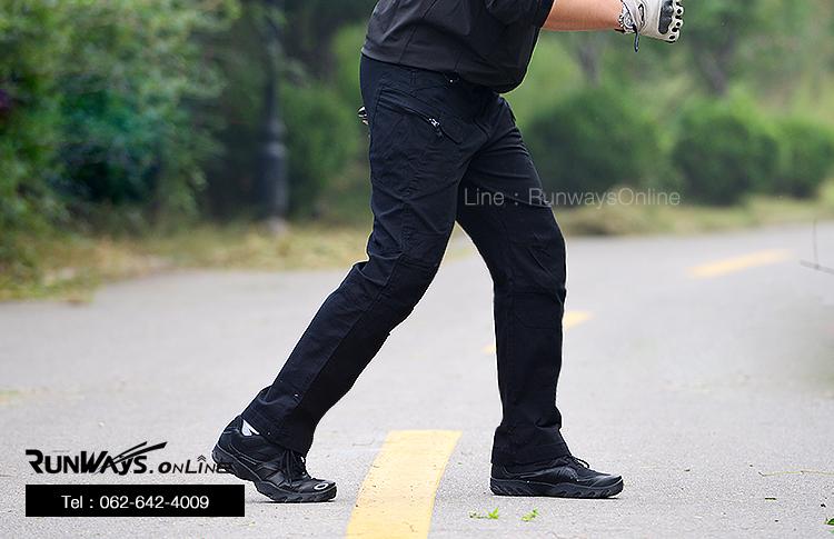 กางเกง IX7- สีดำ