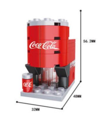มินิโมเดล ร้าน Cola