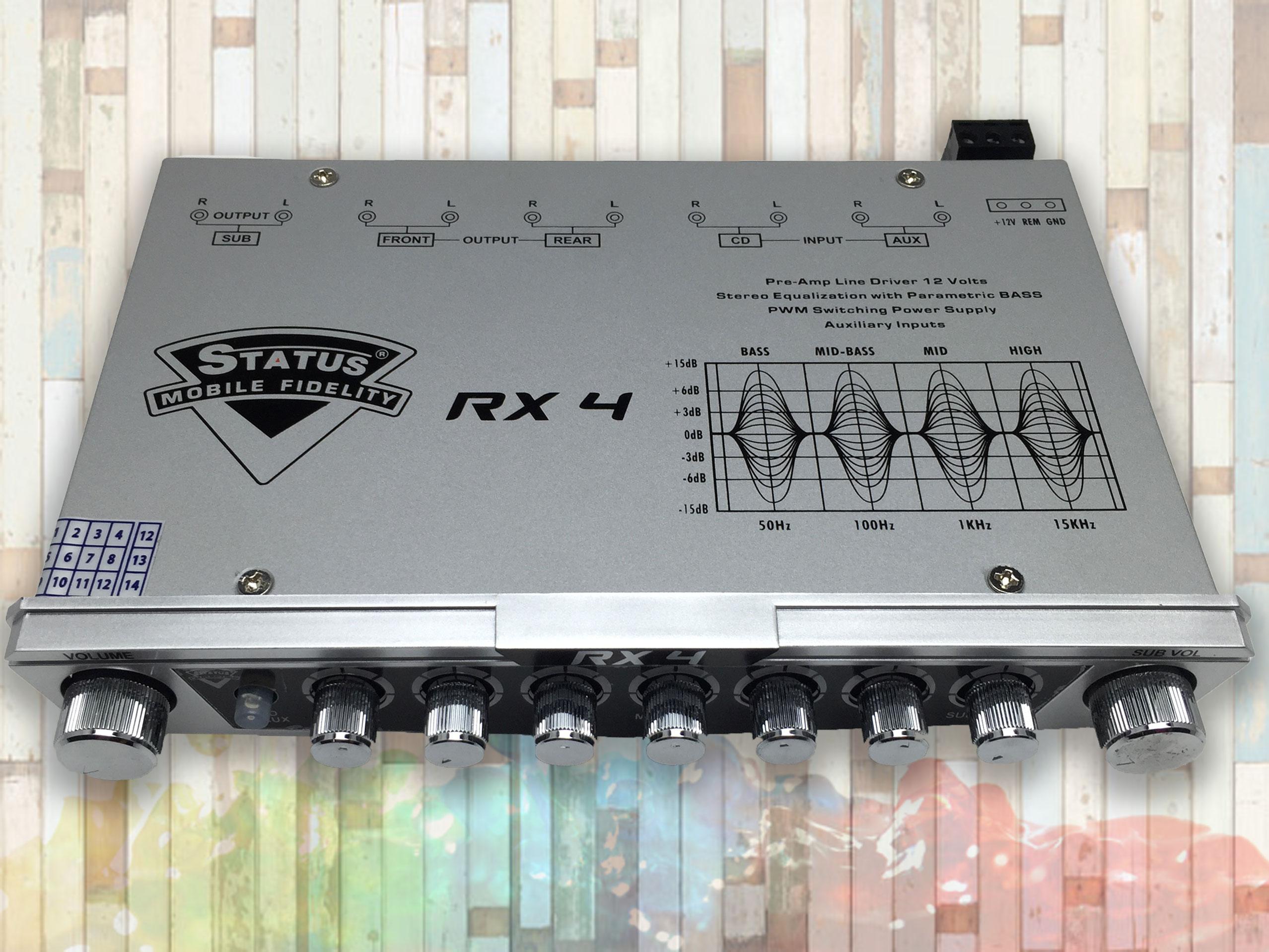 ปรีแอมป์ Status RX4 พร้อมส่ง