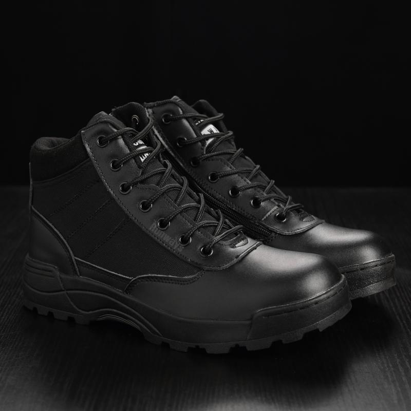 รองเท้า Original S.W.A.T. - ข้อสั้น สีดำ