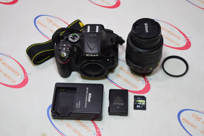 (Sold out)Nikon D5200 + เลนส์ Kit 18-55
