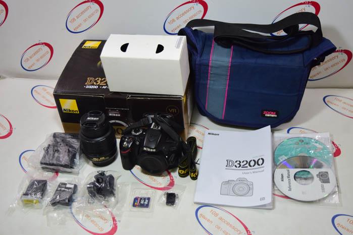(Sold out)กล้อง Nikon D3200 + เลนส์คิท 18-55 DX VR