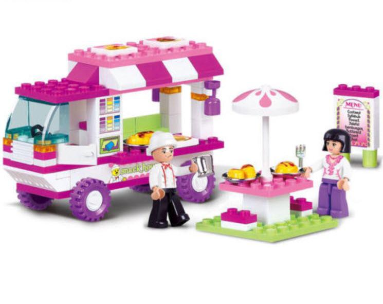 Food Truck 102 ชิ้น (Sluban)