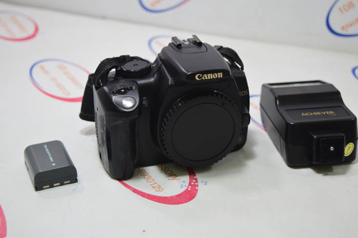(Sold out)Canon EOS 350D และ แฟลช ACHIEVER 115M