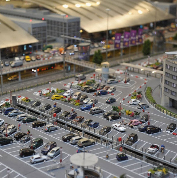Car Park Theme (scale 1:87)