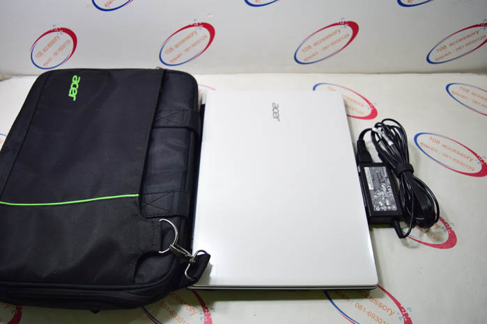 (Sold out)โน๊ตบุ๊ค Acer E5-411G สีขาว Pentium N3540/2.66GHz/4GB/500GB/Nvidia 2GB