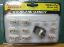 ชุดหมู (Yorkshire Pigs) 12 ตัว (Woodland)
