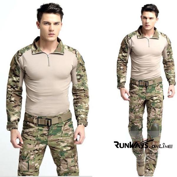 ชุดทหารคอมแบท มัลติแคม: Combat Suit Multicam
