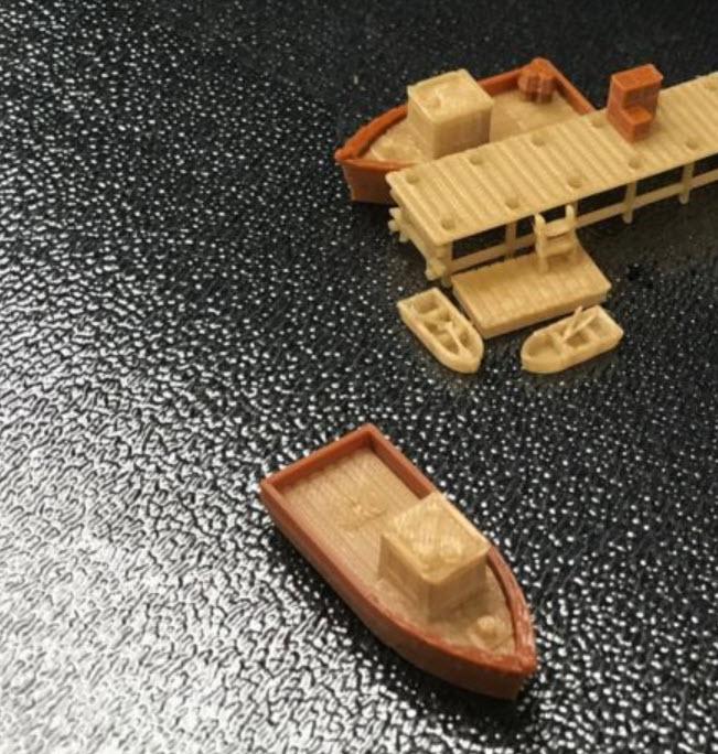 สเกล 1:220 ท่าเรือ + เรือ