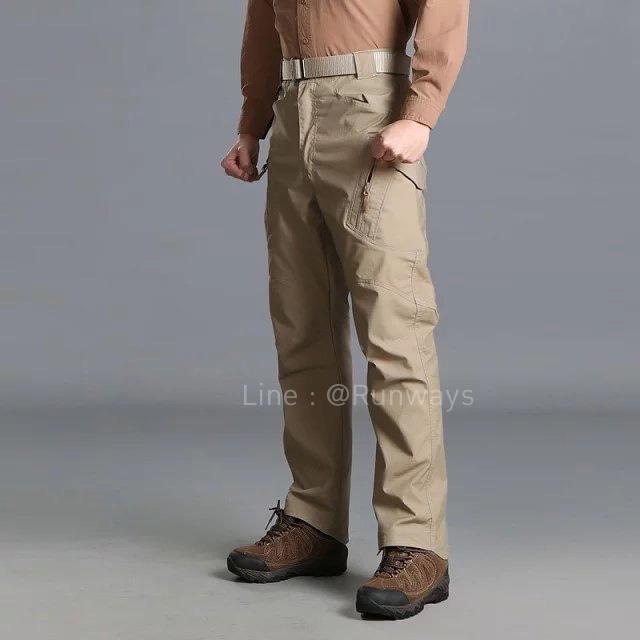 กางเกง IX9C สีกากี