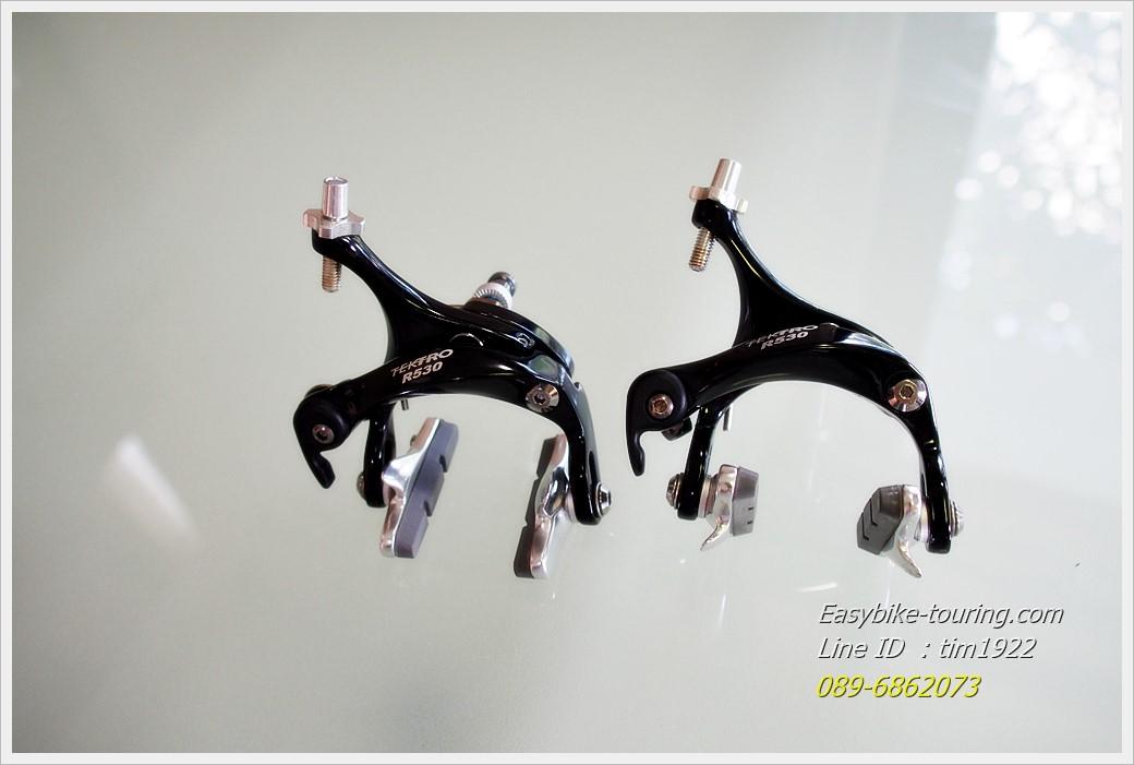 ก้ามเบรคเสือหมอบ-ทัวร์ริ่ง TEKTRO R350 สีดำ