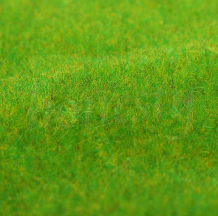 สนามหญ้าเทียม ขนาด 25 ซ.ม.x 25 ซ.ม.สีเขียวอ่อน /แผ่น