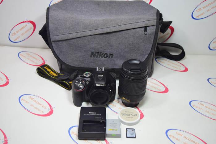 (Sold out)กล้อง Nikon D5300 + เลนส์18-140 mm DX VR สภาพสวย อุปกรณ์ครบ