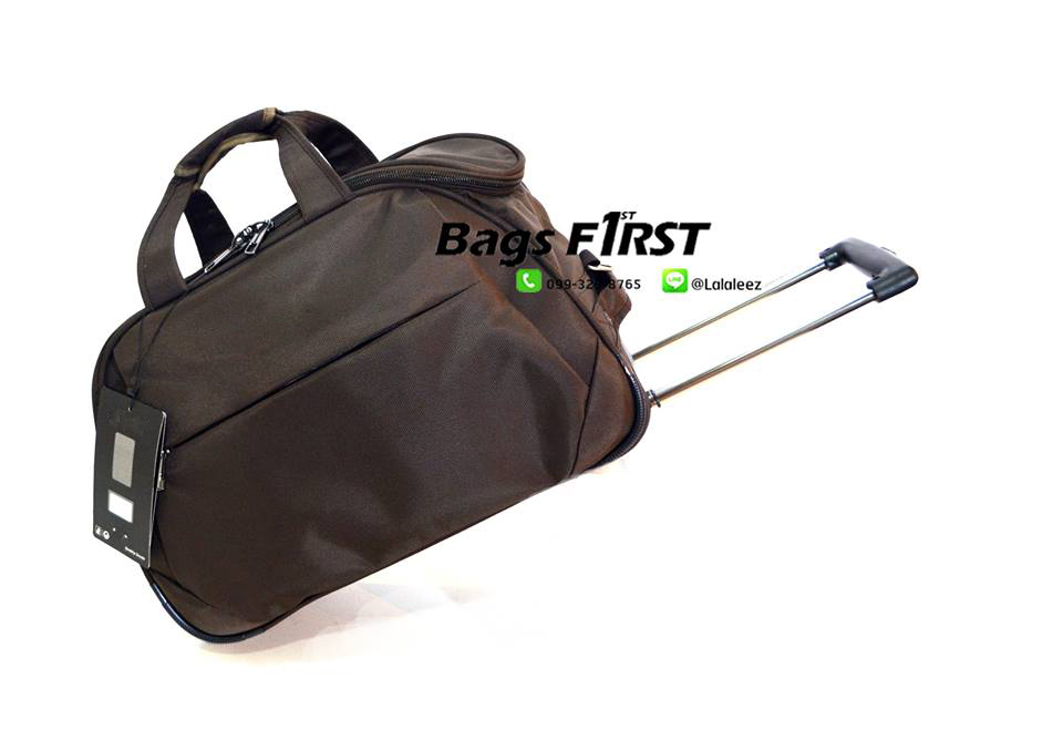 กระเป๋าเดินทาง แบบผ้า ล้อลาก 2 ล้อ ขนาด 20 นิ้ว