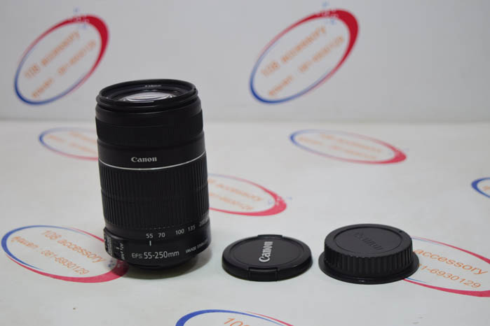 (Sold out)เลนส์ Canon Lens Zoom EF-S 55-250mm