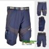 กางเกงขาสั้น ARSUXEO 1406 เนื้อผ้าแห้งเร็ว / สีกรมแถบดำ