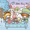 จิ๊กซอว์แบบแผ่นพร้อมถาดรอง ซานริโอ้ กีกี ลาล่า ลิตเติล ทวิน สตาร์ Jigsaw Puzzle Sanrio Little Twin Stars 54 ชิ้น