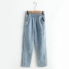 กางเกงยีนส์ขายาว เอวยืด (มีให้เลือก 2 สี 3 ไซส์)