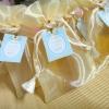 น้ำผึ้ง บรรจุในขวดแก้ว ถุงผ้าแก้ว
