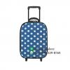 กระเป๋าเดินทาง 16 นิ้ว สีน้ำเงินลายจุด