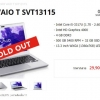 (Sold out)SONY VAIO SVT131B11W