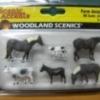สัตว์เลี้ยงในฟาร์ม (Farm Animals) 6 ตัว (Woodland)