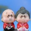 ตุ๊กตาคู่ผู้สูงวัย (ญี่ปุ่น) แบบ A