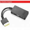 Thinkpad OneLink Adapter 3 in 1 Port : Ethernet LAN, VGA, Power charge