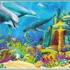 จิ๊กซอว์ ลายทั่วไป วิว หมาแมว เรือ ทะเล ภูเขา Jigsaw Puzzle 500 ชิ้น