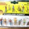 ชุดนักกอล์ฟ (Golfers) 6 คน+ถุงกอล์ฟ (Woodland)