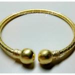 BGH-00006 กำไลข้อมือทองเหลือง (กระบวยตักเงินตักทอง)