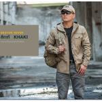 เสื้อแจ็คเก็ตแทคติคอล IX7- สีกากี KHAKI