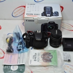 (Sold out)Canon EOS 550D + Lens 18-55mm