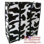 กระเป๋ากระสอบลายการ์ตูน ใส่ของสีสันสวยงาม 65*55*25 cm. RAINBOW BAG ถุงแม่ค้า ราคาส่ง 65บาท